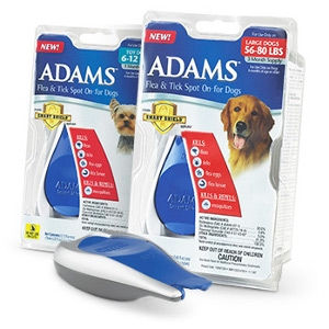 Adams™ Flea & Tick Spot On® for Dogs