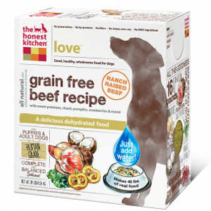 Grain-Free Beef Dog Food