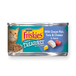 Friskies® Tasty Treasures® With Cheese