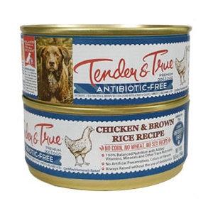 Tender & True® Chicken & Brown Rice Can Dog Food