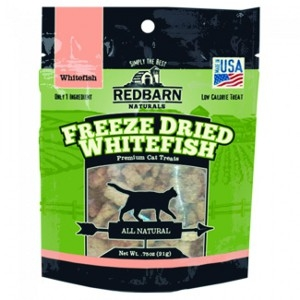 Redbarn Whitefish Freeze-Dried Cat Treats