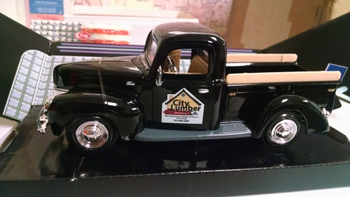 1940 City Lumber Company Ford Truck