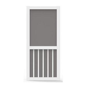 Better Board 36-In. 5-Bar Vinyl Screen Door Low Maintenance