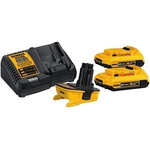 20 Volt Max Battery Adapter Kit