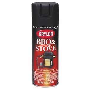 12-Oz. BBQ & Stove Spray Paint