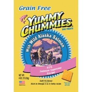 YUMMY CHUMMIES GOLD 95% SALMON- GRAIN FREE