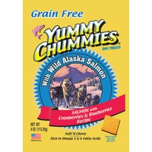 YUMMY CHUMMIES SALMON AND BERRIES- GRAIN FREE