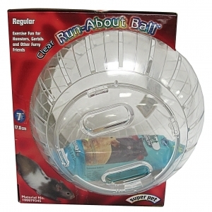 Run About Ball Clear 7 Inch
