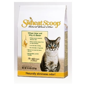 Scoop Wheat Litter 14Lb