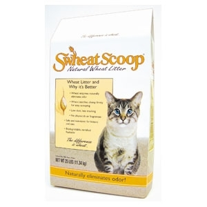 Scoop Wheat Litter 25Lb