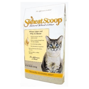 Scoop Wheat Litter 40Lb