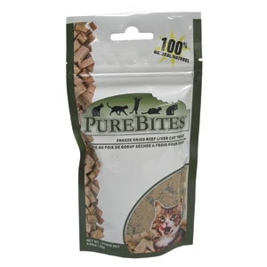 Purebites Beef Liver Cat .85Oz