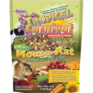 TROPICAL CARNIVAL NATURAL MOUSE AND RAT