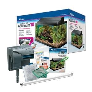 Aqueon Deluxe Aquarium Kit 10G