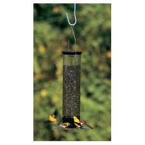 """Yankee Tipper Squirrel Proof Bird feeder Black 21"""""""