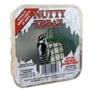Picture Label Suet Treat Nutty 11.75 oz.