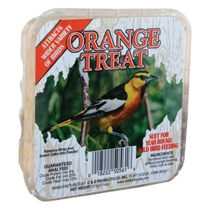 Picture Label Suet Orange 11.75 oz.