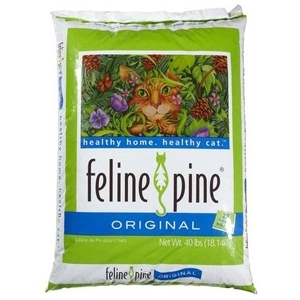 Feline Pine Cat Litter 40 Pound