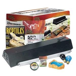 Reptihabitat Bearded Dragon Kit 20Gal