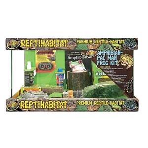 Reptihabitat Amphibian/Pac Man Frog Kit 10 Gal