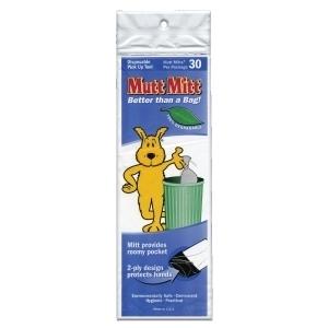 Mutt Mitt Smart Pack White 30 Count