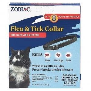 Zodiac Flea & Tick Collar For Cats & Kittens