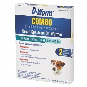 D-Worm Combo Small Dog