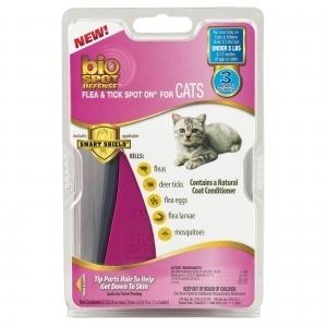 Bio Spot Defense Flea & Tick Spot On For Cats
