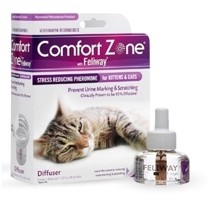Comfort Zone Diffuser with Feliway Refill 48mL