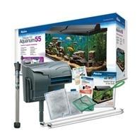 Aqueon Deluxe Aquarium Kit 55G