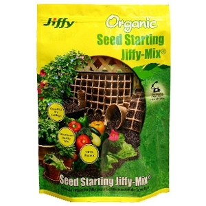 Jiffy Organic Seed Start Mix 10 qt.