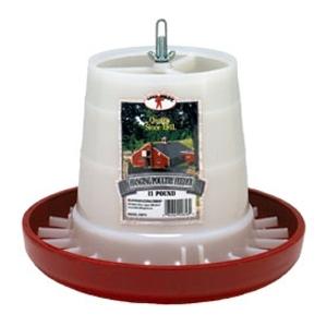 Plastic Hanging Feeder Red 11 lb.