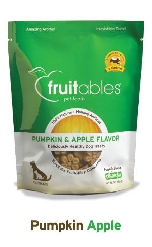 Fruitables Dog Treats Pumpkin & Apple