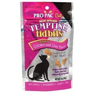 Pro Pac Tempting Tidbits™ Crunchy Chicken & Liver Flavor