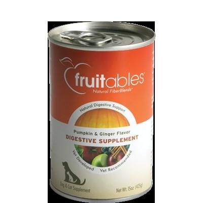 Fruitables Pumpkin Superblend Digestive Dog & Cat Supplement