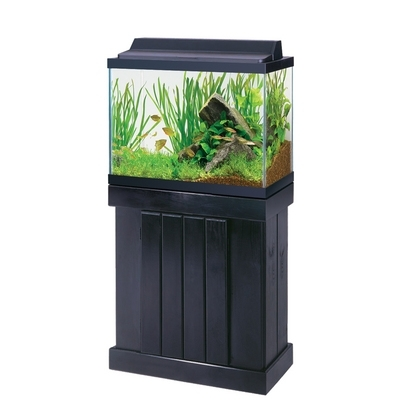 "24"" Classic Pine Stand & Canopy Black"