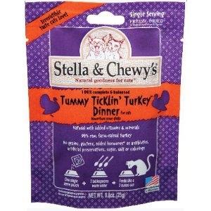 Tummy Ticklin' Turkey Dinner For Cats