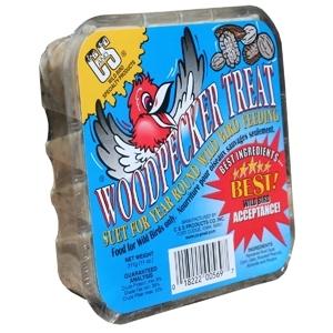 Woodpecker Treat Premium Suet Cake 11 oz.