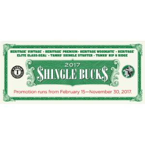 Shingle Bucks