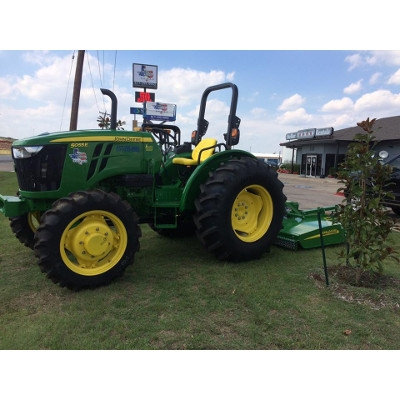 John Deere Tractor And MX6 Rotary Cutters
