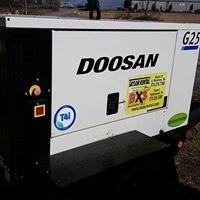 DOOSAN G25 TOW-ABLE GENERATOR