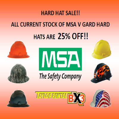Hard Hat Sale!