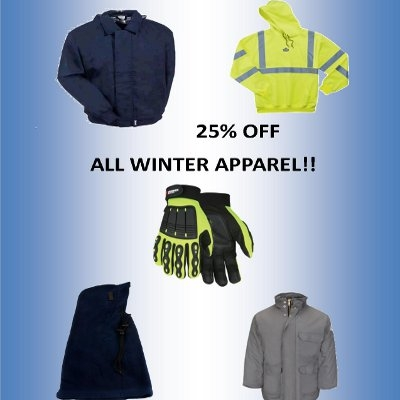 Winter Apparel Discount!