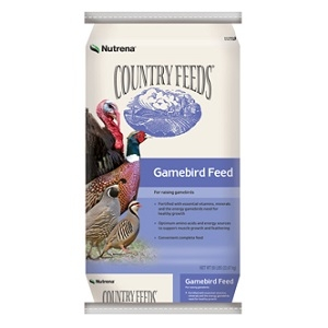 Country Feeds® Gamebird Starter Unmedicated 28% Crumbles 50lb