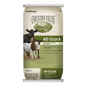 Country Feeds® All Stock 16% Pelleted Feed 50lb