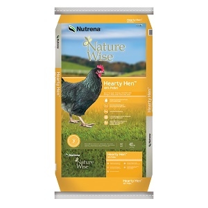 Nature Wise Hearty Hen Layer Pellets 40lb