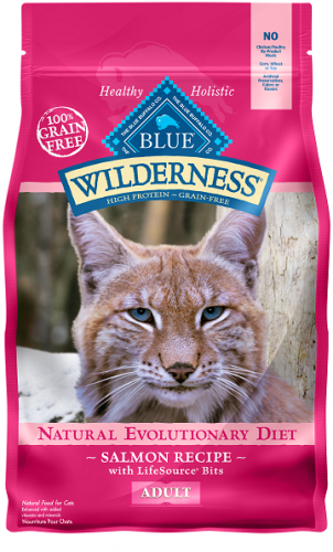 BLUE Wilderness®cSalmon Recipe For Adult Cats