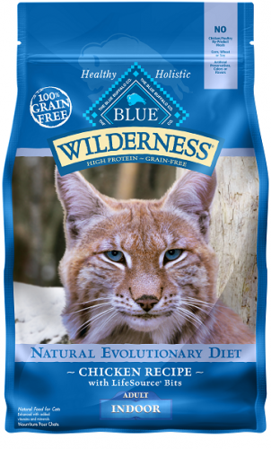 BLUE Wilderness® Indoor Chicken Recipe For Adult Cats