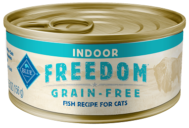BLUE Freedom® Grain-Free Indoor Fish Recipe For Adult Cats