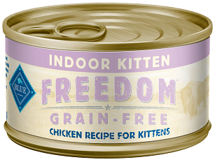 BLUE Freedom® Grain-Free Indoor Chicken Recipe For Kittens